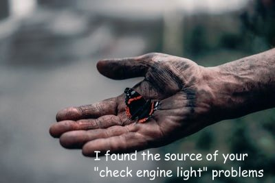 I found the source of your check engine light problems