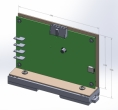 12V battery backup controller, DIN rail mount