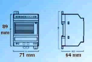 6V 35 Watt (and 70 Watt) battery backup switching power (DC