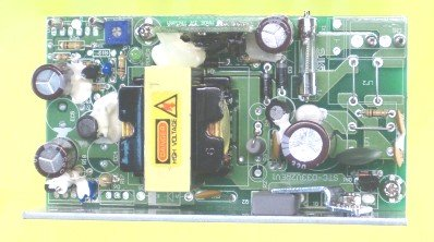 48 to 125 volt dc-dc converter, 35 watts plan view