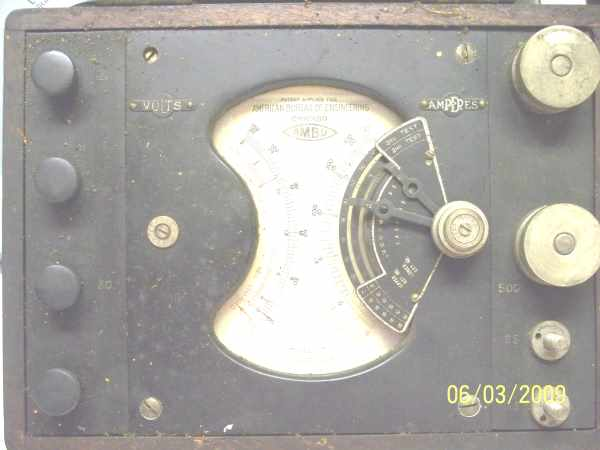 AMBU Dial face, click on the photo to see it in full resolution