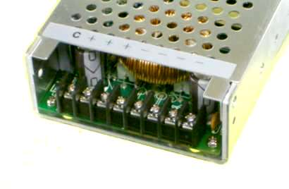 Output terminal strip