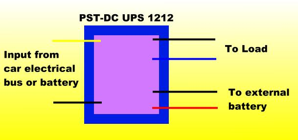12v dc ups and battery back up bbu for cars and automobiles connection diagram asfbconference2016 Images