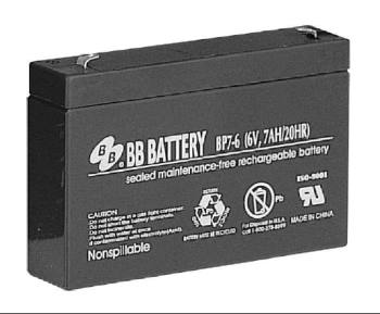 single bp7-6 sealed lead acid battery