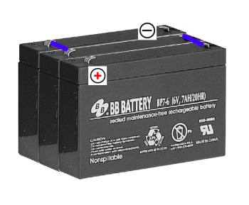 18 volt lead acid batteries for Minimoto
