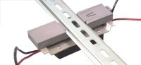 reverse view of DIN rail mounting