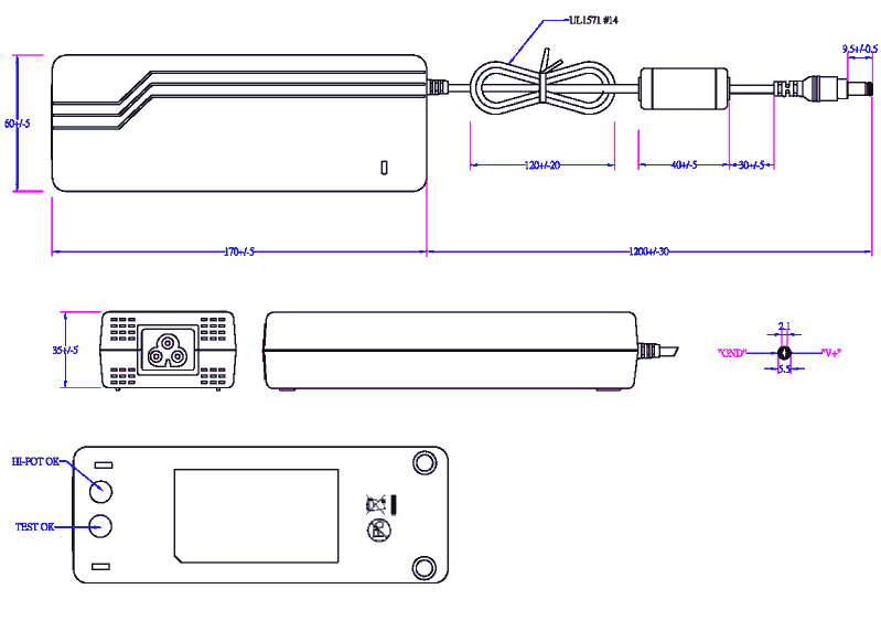 drawing of the EA11203