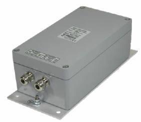 24VAC DC/AC power inverter with IP66 and 12V, 24V, 36V, 48V