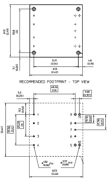 48V to 12V 25A 300 Watt DC/DC converter PKL4313PITLA from Ericsson