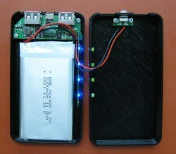 type 2 power bank with polymer cells