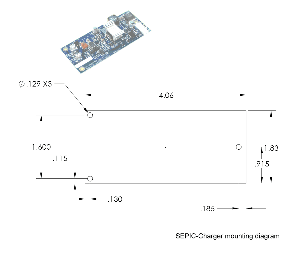 Digitally Controlled Solar Charge Controllers Battery Charger Circuit Diagram Mounting Dimensioned