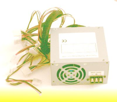 DC Input ATX style power supply, 24 volts input